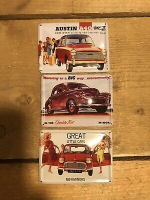 Collectible Tin Card For Classic Cars