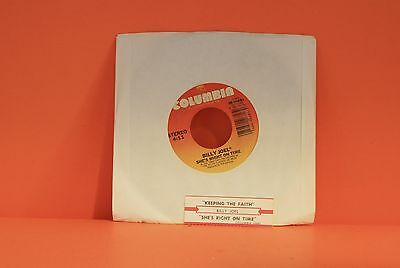 "Billy Joel - Keeping The Faith / She's Right On Time    - 7"" Vinyl Single 45 S"