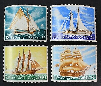 CKStamps: French Polynesia Stamps Collection Scott#296-299 Mint NH OG