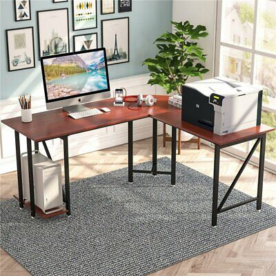 Tribesigns Large Modern L-Shaped Desk Corner Office Computer Study Table 66.9/'/'L