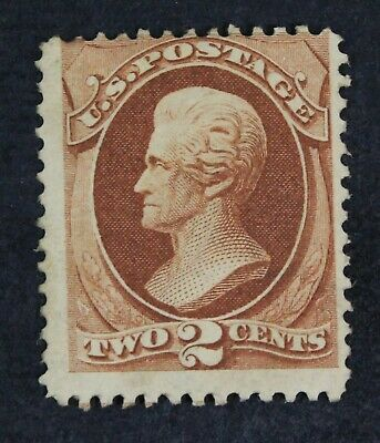 CKStamps: US Stamps Collection Scott#146 2c Jackson Unused NG