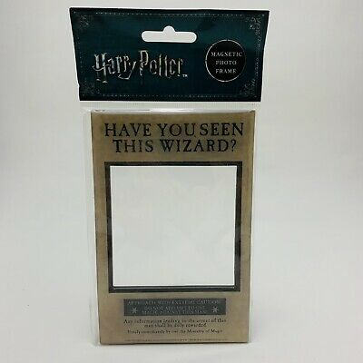 Harry Potter Photo Frame Fridge Wanted Magnet - Have You Seen This Wizard? - New