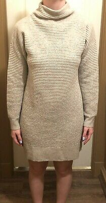 18089c8adf4 Madewell Womens Skyscraper Merino Wool Sweaterdress Size Large Heather Gray  NEW
