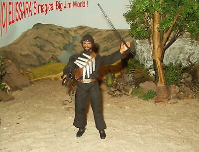 Big Jim  - Wolf Pack - The Whip - P.A.C.K Figure - Commando Agent  Spy  Nr. 9060