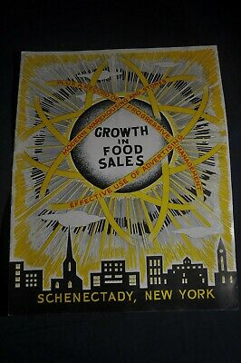 Ca 1958 Growth in Food Sales - Buy Rite Food Stores, Schenectady NY