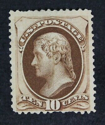 CKStamps: US Stamps Collection Scott#161 10c Unused NG Pulled Perf Bottom CV$275