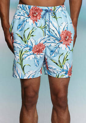 38e623201d Tommy Bahama Men's Swimsuit, Naples Fira Flora Swim Trunks Large New With  Tags