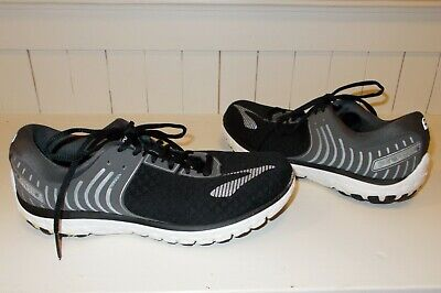 5a159a56961 Brooks Pure Flow 6 Women s Running Shoes Black Anthracite Silver Size 9.5 M
