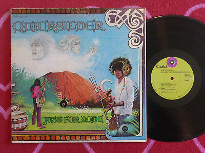 QUICKSILVER MESSENGER SERVICE Just For Love LP Capitol 1970 Los Angeles Pressing