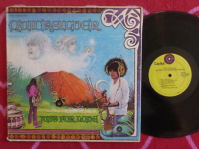 QUICKSILVER MESSENGER SERVICE Just For Love LP Capitol 1970 Record Club Edition