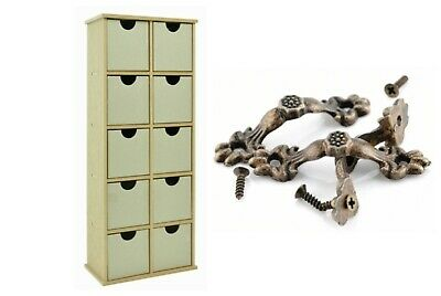 Kaisercraft Beyond The Page BTP 10 Drawer Stand Storage Display +10 Drawer Pulls