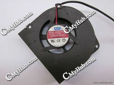 AVC BA06015R12L S07 DC12V 0.24A 63x60x13mm 2Pin 2Wire Cooling Fan