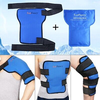 1-3 Pack Nylon Hot Cold Therapy Gel Pack Heat Ice Compress Microwave Freezer