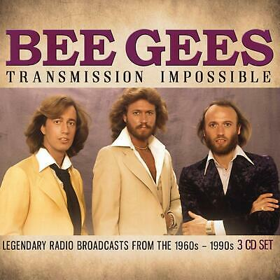 BEE GEES 'TRANSMISSION IMPOSSIBLE' (1960s-1990s Broadcasts) 3 CD Set (10 May 19)
