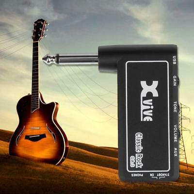 Xvive GA-3 Rock Mini Portable Electric Guitar Plug Headphone Amplifier Tool