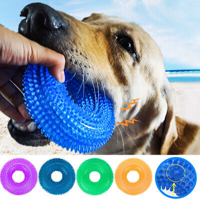 Pet Toys TPR  Bite-Resistant Toy Balls For Dog Playing Ball Cleaning Teeth Toy