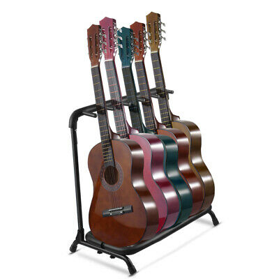 Guitar Stand Rack Holder, Multi Electric & Acoustic Guitar Organizer Hold for 5