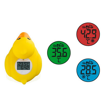 Baby Bathing Thermometer Digital Cartoon Duck Water Sensor Safety Floating Toy D