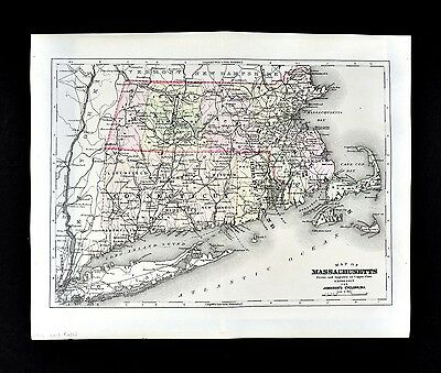 Farmington Hampshire Hampden Connecticut Massachusetts 1828 Canals  POSTER 3121