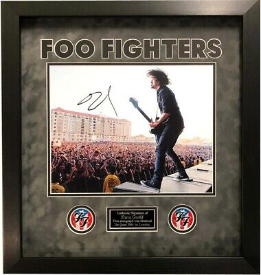 Dave Grohl SIGNED AUTOGRAPH Foo Fighters AFTAL UACC RD
