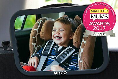 Onco Baby Car Mirror Keep an Eye on Baby Rear Facing Child Seat Vehicle Kids New
