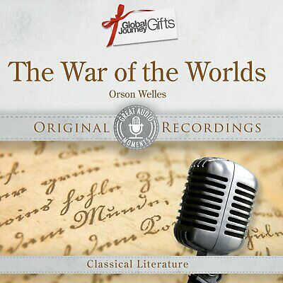 The War Of The Worlds Orson Welles Cd - Classical Literature Original Recordings