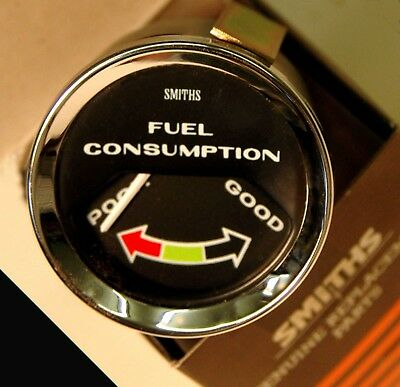 Smiths new classic style vacuum fuel consumption gauge