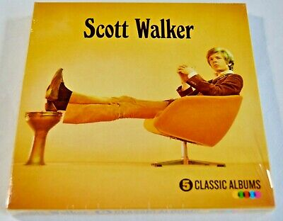 Scott Walker ~ Classic Albums ~ NEW 5 x CD Set ~ 1,2,3,4, Til The Band Comes In