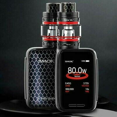 Smok X-PRIV BABY Kit TC 80W  + TFV12 Big Baby Prince + Eliquid 10ml VapePiper