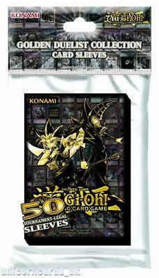 YuGiOh Golden Duelist Collection Card Sleeves :: Konami Official High Quality Yu