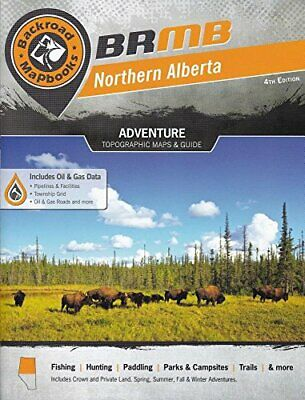 NEW - Backroad Mapbook: Northern Alberta