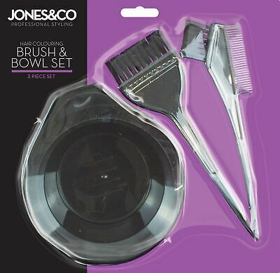 Professional Salon Hair Colouring Dye Brush + Bowl Set Quick Bleach Tint