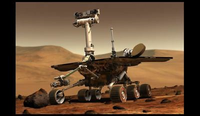 Opportunity Mars Rover PHOTO Mars Space Mission NASA Martian Landing Surface