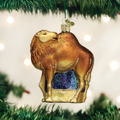 Old World Christmas CAMEL blown Glass Ornament NWT OOP