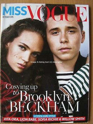 Miss Vogue October 2015 Brooklyn Beckham Sofia Richie Rita Ora Willow Smith