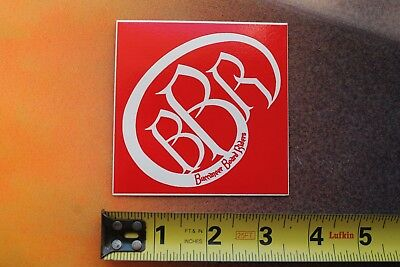 BBR BUCCANEER BOARD Riders Red Logo Surf Wear V8 Vintage Surfing STICKER