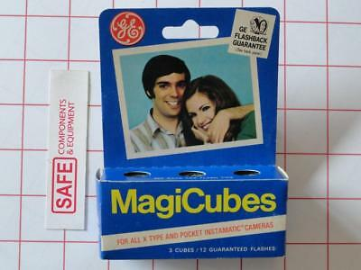 GE MagiCubes 3-Pack Flash Cubes for All X-Type & Instamatic Cameras MM-368
