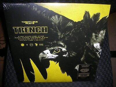 Twenty One Pilots **Trench **NEW GREEN COLORED RECORD LP VINYL *INDIE EXCLUSIVE