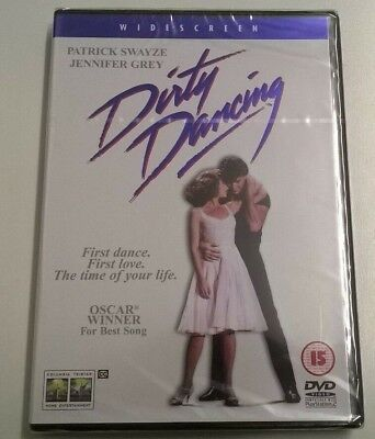 Dirty Dancing (DVD, 2001) New & Sealed Patrick Swayze Jennifer Grey