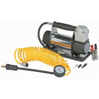 12V 150 PSI High Volume Air Compressor Inflate Flat Tire Race quiet Compact Auto