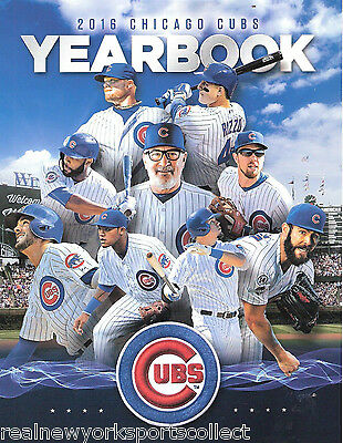 2016 Chicago Cubs Official Yearbook Arrieta Bryant Rizzo Schwarber World Series