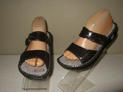 12eecece446a ALEGRIA BY PG Lite Kleo Leather Sandals w/BackStrap Womens 38/8-8.5 ...