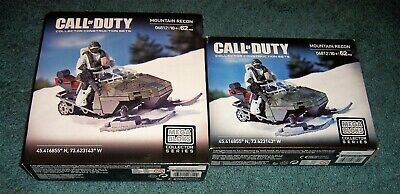 Building Blocks Bricks Snowmobile Motorcycle Military Call of Duty MOH Figures