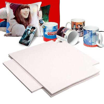 100x Sheets A4 Dye Sublimation Heat Transfer Paper For Fabric T-shirt Cup Print