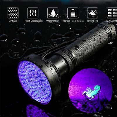 Ultraviolet UV LED Flashlight Torch Light 365nm Ultra Violet Blacklight Aluminum