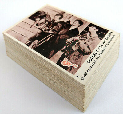 1966 Scanlens THE MONKEES (SEPIA) SET OF 44 CARDS