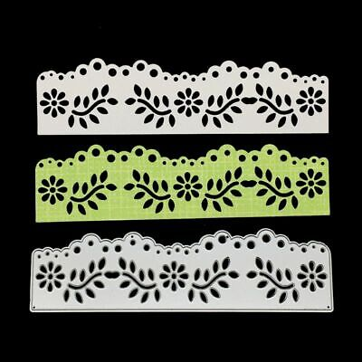 Hollow Lace Cutting Dies Stencil Scrapbooking Paper Card DIY Embossing Craft