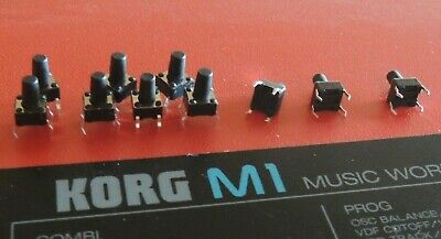 KORG M1 M1R 01W  T3 Part command board Cover button Cap good condition