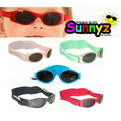 EDZ Sunnyz Baby Sunglasses Safe 100% UV Rays Protection Lenses + Case 0-2 yrs
