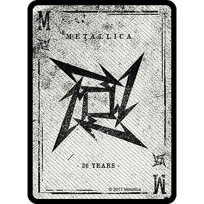 Metallica Patch Dealer Band Logo new Official woven sew on One Size